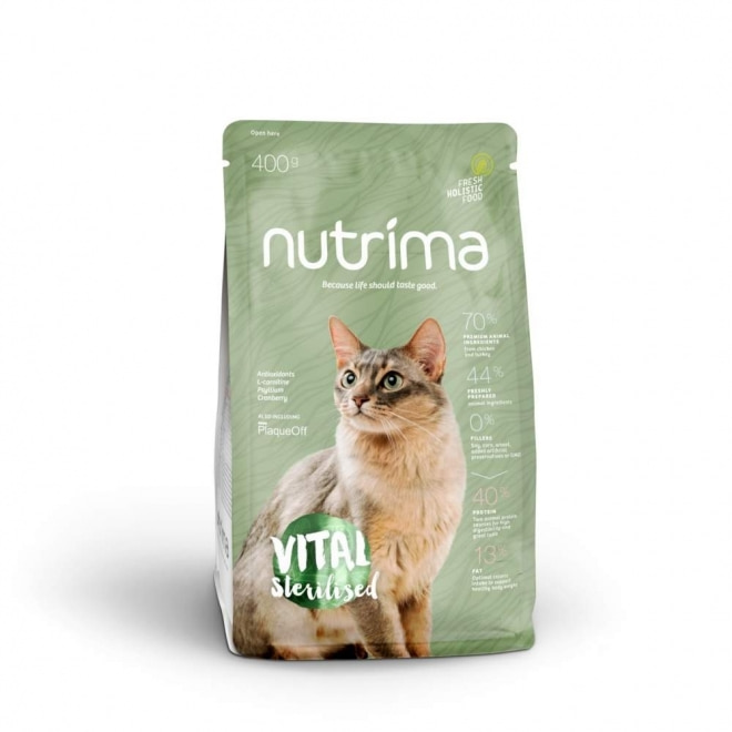 Nutrima Cat Vital Sterilised (400 g)