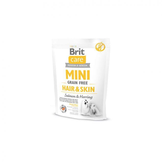Brit Care Mini Grain Free Adult Hair & Skin (400 g)