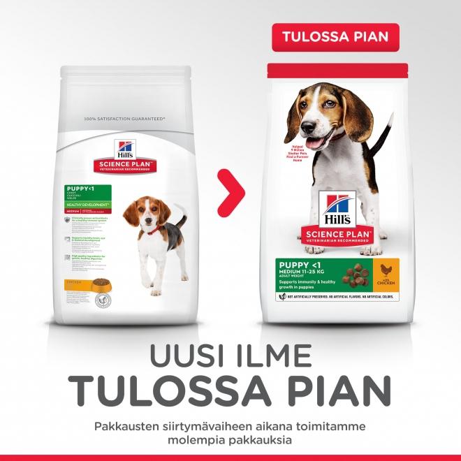Hill's Science Plan Puppy Medium Chicken