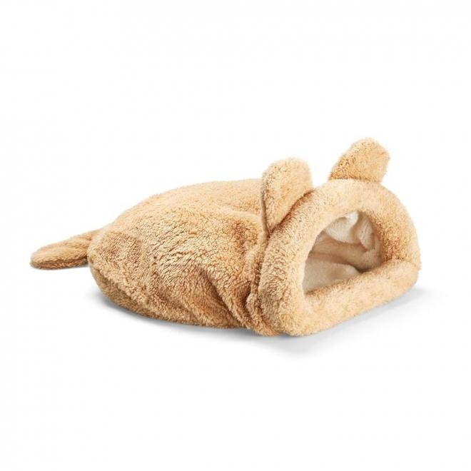 Little&Bigger kissan fleecepussi korvat ja häntä
