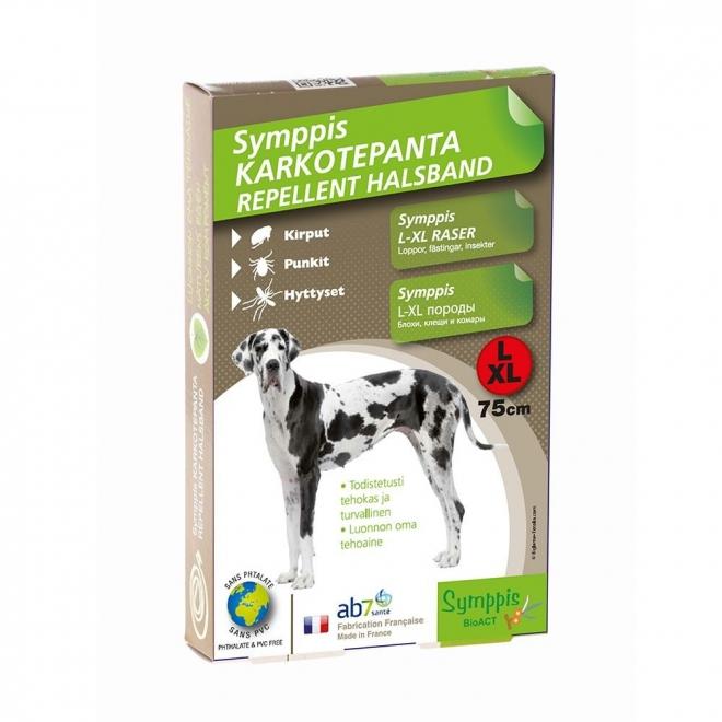 Symppis-punkkipanta koiralle (L/XL)