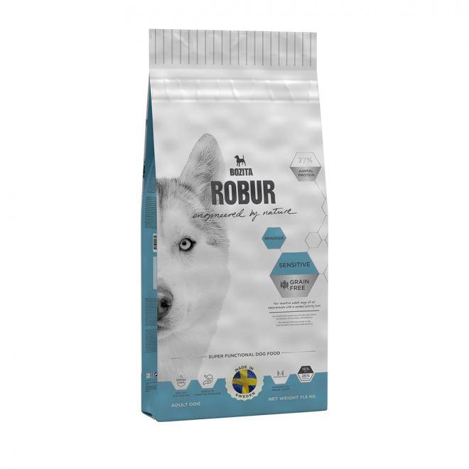 Bozita Robur Sensitive Grain Free Reindeer (11,5 kg)