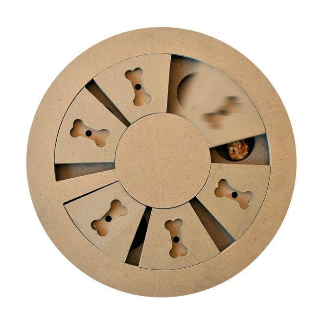 Little&Bigger Seek-a-Treat Discovery Wheel peli
