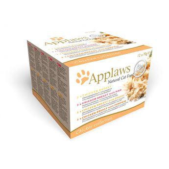 Applaws Cat kylling (12 x 70 g)**