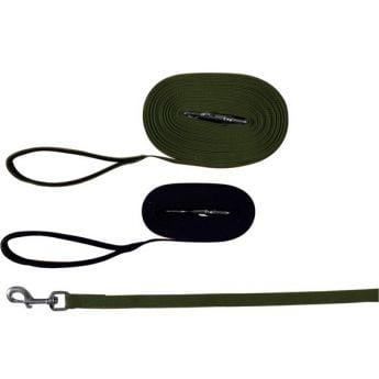 Trixie langline nylon 10m/20mm grønn