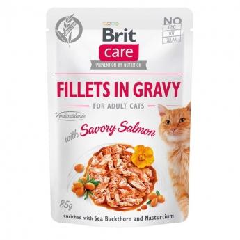 Brit Care Cat Gravy laks 85g