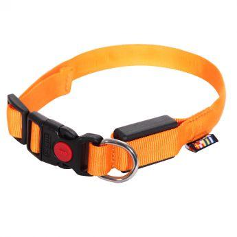 Rukka Visible halsbånd LED orange**