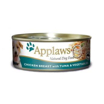 Applaws Dog kylling, tunfisk og ris (156 gram)**