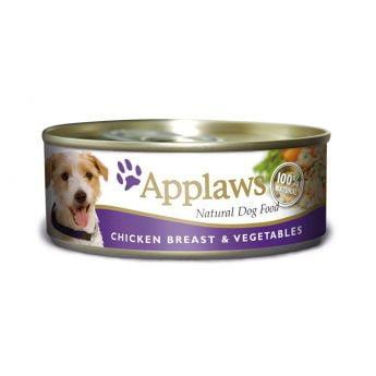 Applaws Dog Kylling og grønnsaker (156 gram)**