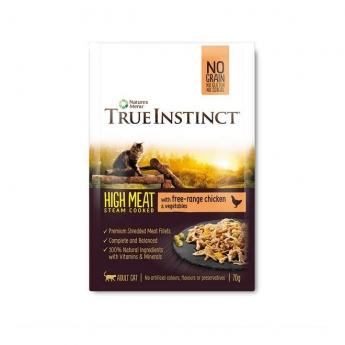 True Instinct Hign Meat Cat kylling 70 g