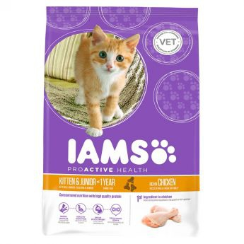 Iams Kitten & Junior Chicken**