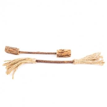Little&Bigger Matatabi Broom & Dumbbell Katteleke 2-pack