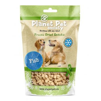 Planet Pet Society Frysetørket fisk (30 gram)**