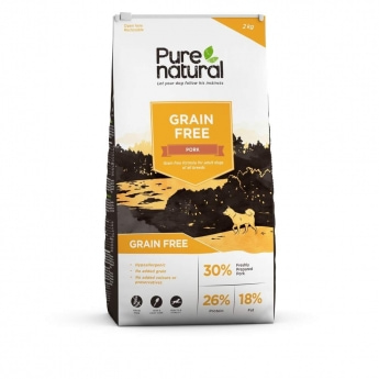 Purenatural Dog Adult Grain Free Pork (2 kg)