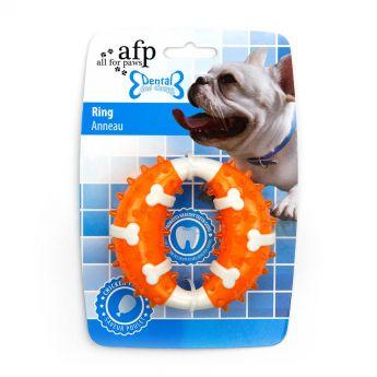 All For Paws Dental Ring kyllingsmak oransje (10 cm)**