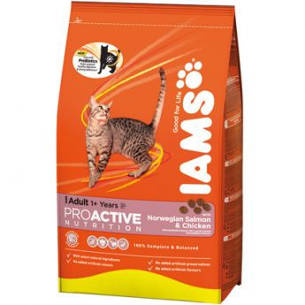 Iams Adult Norwegian Salmon & Chicken