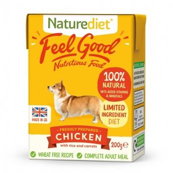 Naturediet Feel Good kylling (200 g)