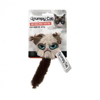 Grumpy Cat katteleketøy med hale