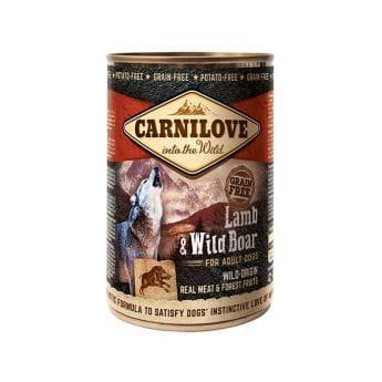 Carnilove Wild Meat Lamb & Wild Boar (400 gram)
