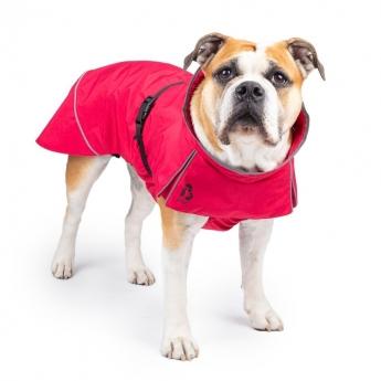 Basic Oceanic raincoat red