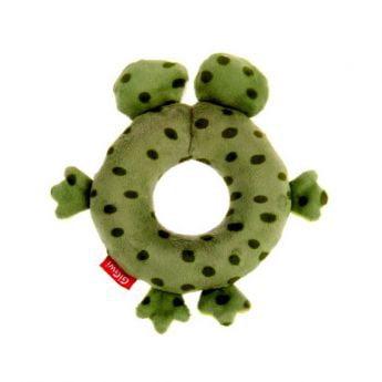 GiGwi PlushFriendz Ring Frosk (Grønn)