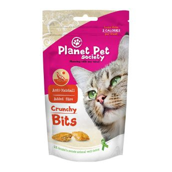 Planet Pet Crunchy Bites Anti Hairball (40 gram)