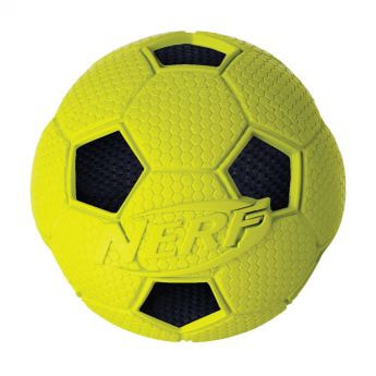 Nerf Soccer Crunch ball (Gul)