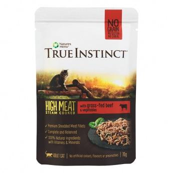 True Instinct Hign Meat Cat biff 70 g