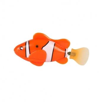 Little&Bigger Fish vannleke til katter (Orange)