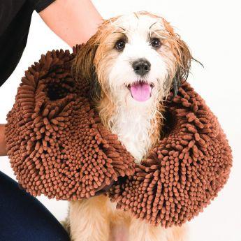 Dog Gone Smart Shammy håndkle, brunt (Brun)