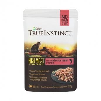 True Instinct High Meat Cat laks 70 g