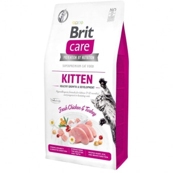 Brit Care Cat Grain Free Kitten Healthy Growth & Development