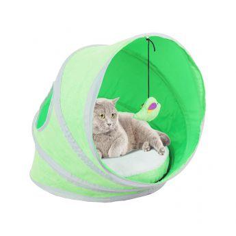 Pawise PoP-Up seng grønn