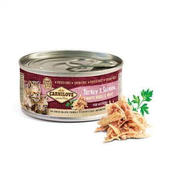 Carnilove Kitten Kalkun & Laks (100 gram)
