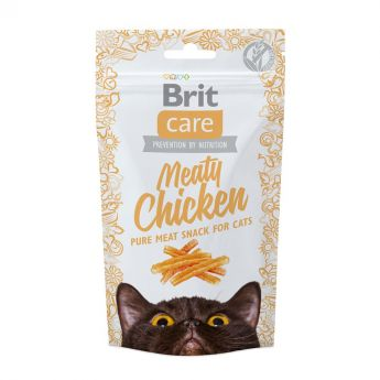 Brit Care Cat Snack Meaty Chicken 50 g (50 gram)