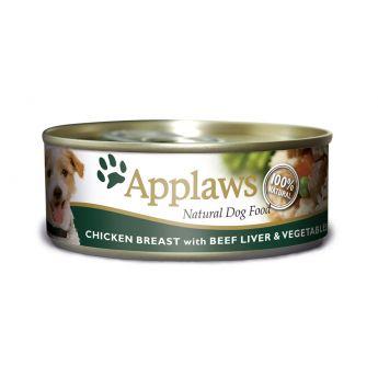 Applaws Dog kylling og kulever (156 gram)**