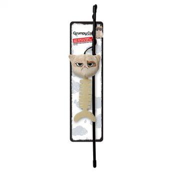 Grumpy Cat stang med fiskebein (Flerfarget)**