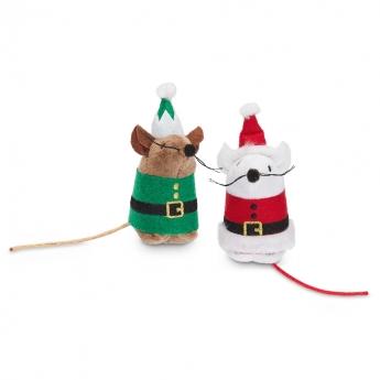 PCO Holiday Santa & Elf Mus 2-pack