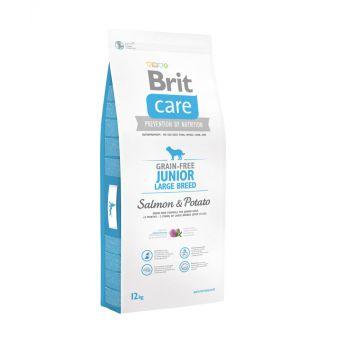 Brit Care Grain-Free Junior Large Breed Salmon & Potato**