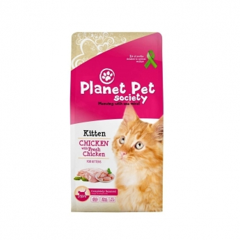 Planet Pet Society Kitten Chicken & Fresh Chicken (7 kg)