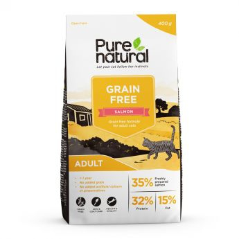 Purenatural Cat Grain Free Adult Salmon**