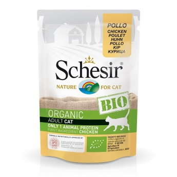 Schesir Bio Cat Adult Chicken 85 g