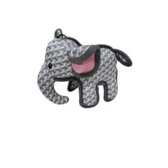 Bark-a-Boo Tough Toys Elefant Grå