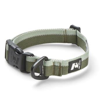 Feel Active Stripe Halsband Mørk/Lyse Grønn