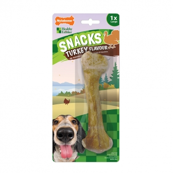 Nylabone Snacks Turkey Large