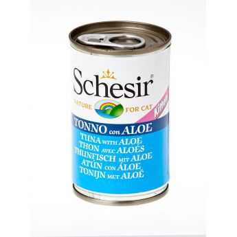 Schesir Kitten Tuna & Aloe (140 gram)