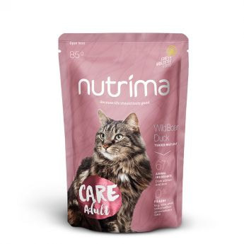 Nutrima Cat Care Adult Våtfôr (85 gram)**