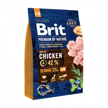 Brit Premium by Nature Senior S+M 3kg