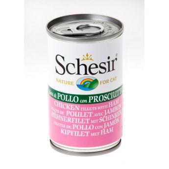Schesir Chicken & Ham (140 gram)