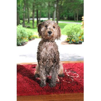 Dirty Dog Mat rød
